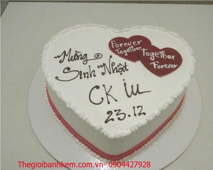 Bánh kem trái tim Mã 1212
