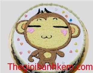 Bánh sinh nhật tuổi khỉ B1732