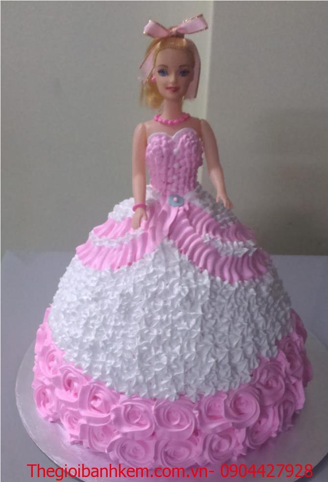 Bánh sinh nhật công chúa 3D Mã B1225
