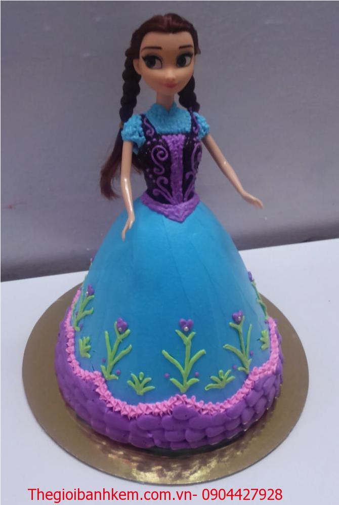 Bánh kem công chúa Elsa Mã B2647