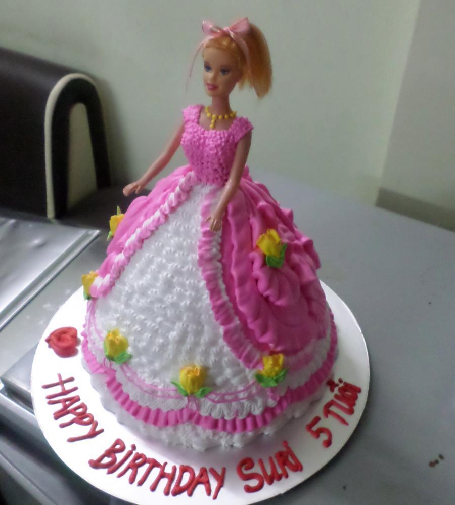 Bánh sinh nhật công chúa 3D Mã B2643