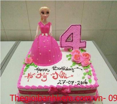 Bánh sinh nhật công chúa Mã B3207