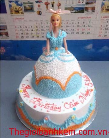 Bánh sinh nhật công chúa Mã B3107