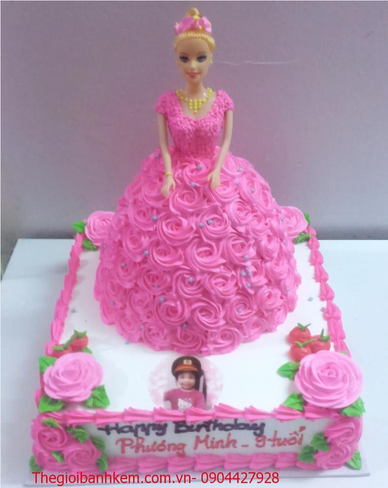 Bánh sinh nhật công chúa Mã B5007