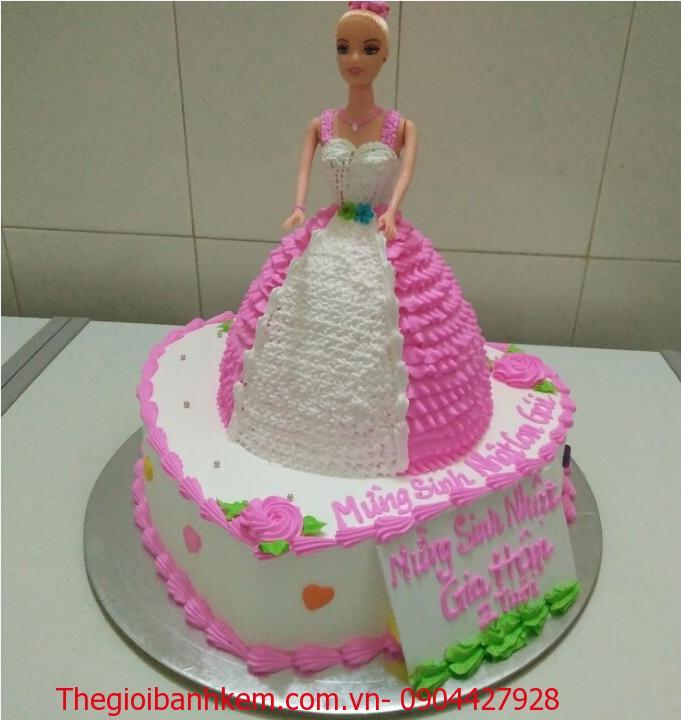 Bánh sinh nhật công chúa Mã B2907