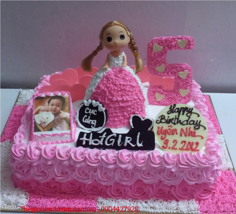 Bánh công chúa 3D Mã B4907