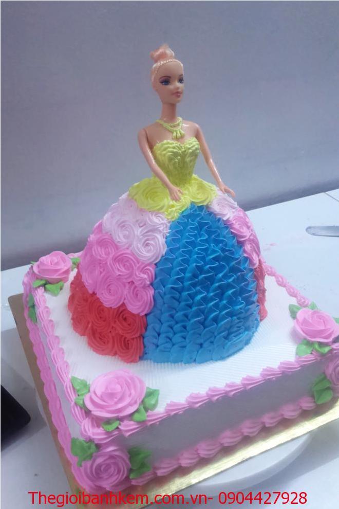 Bánh công chúa 3D Mã 3407