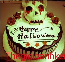 Bánh kem Halloween Mã B2913