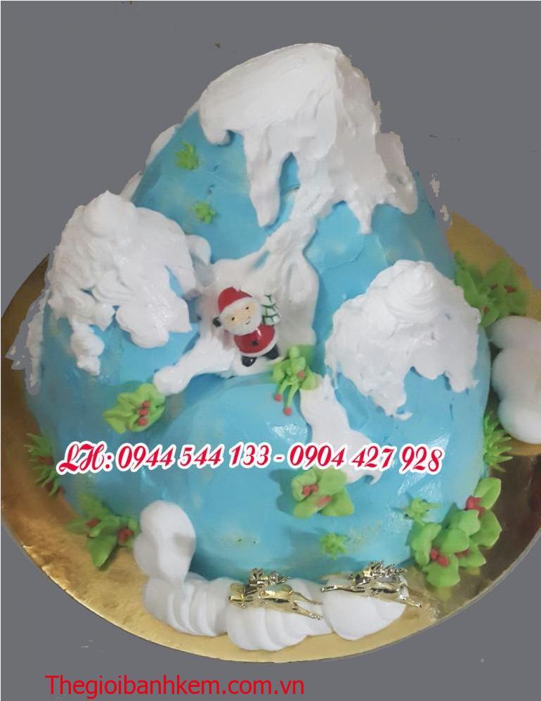 Bánh kem noel Mã B2135