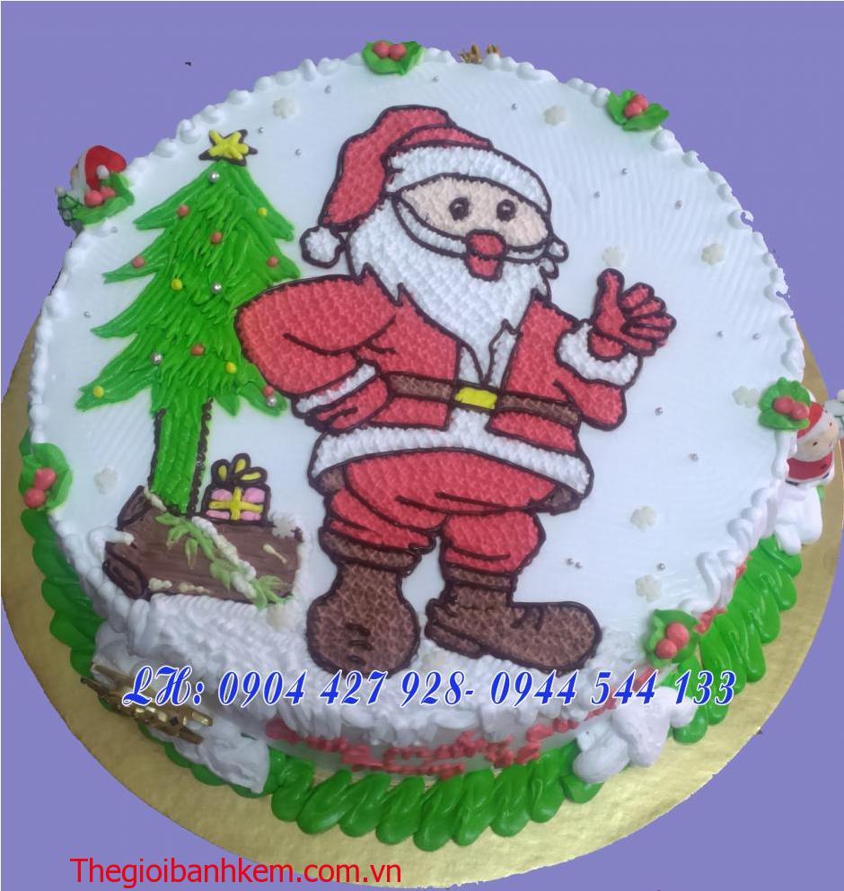 Bánh kem ông già Noel Mã B2129