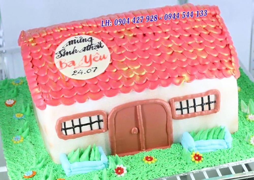 Bánh kem ngôi nhà Mã B2139