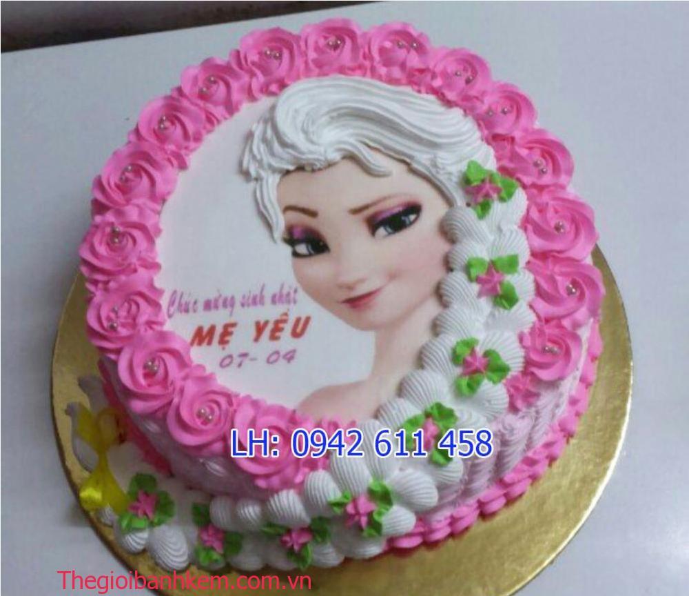 Mã bánh công chúa Elsa B1487