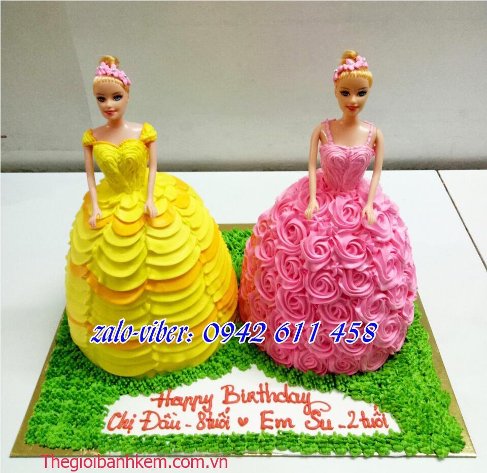 Bánh sinh nhật công chúa Mã B1498