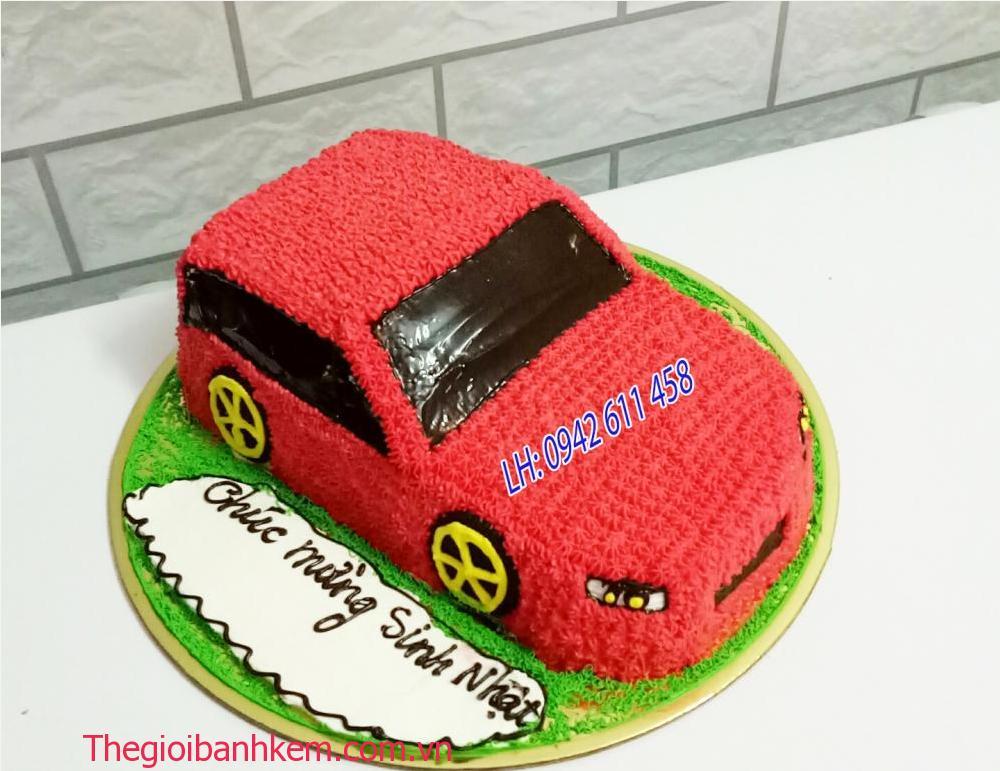 Bánh sinh nhật ô tô Mã B1501