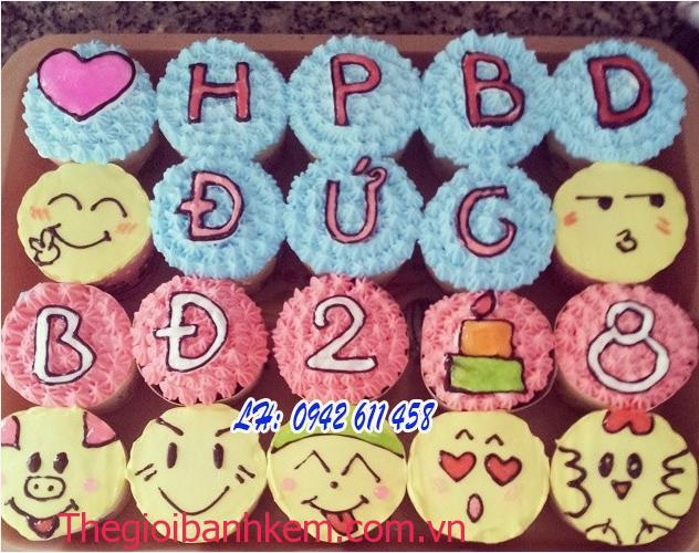 Bánh cupcake Mã CC01