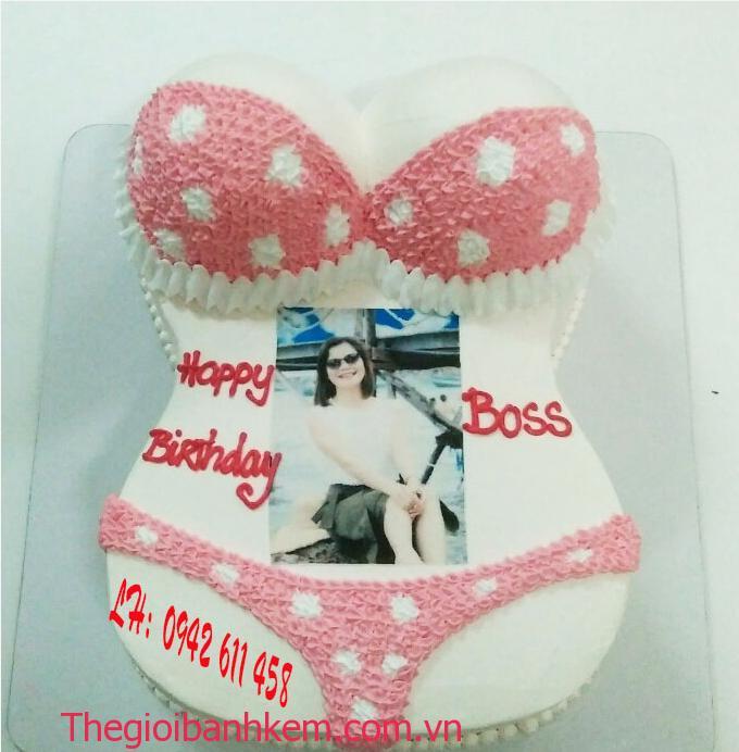 Bánh kem bikini mã b5392