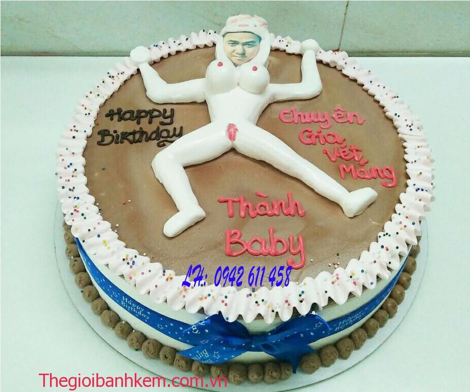 Bánh kem sexy nam Mã B5399