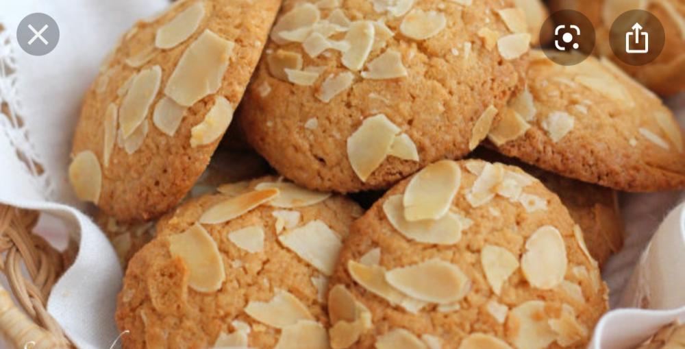 Bánh cookie hạnh nhân dừa 1000 gram