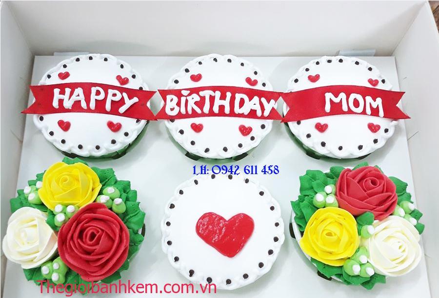 Bánh cucpake tặng Mẹ CC48