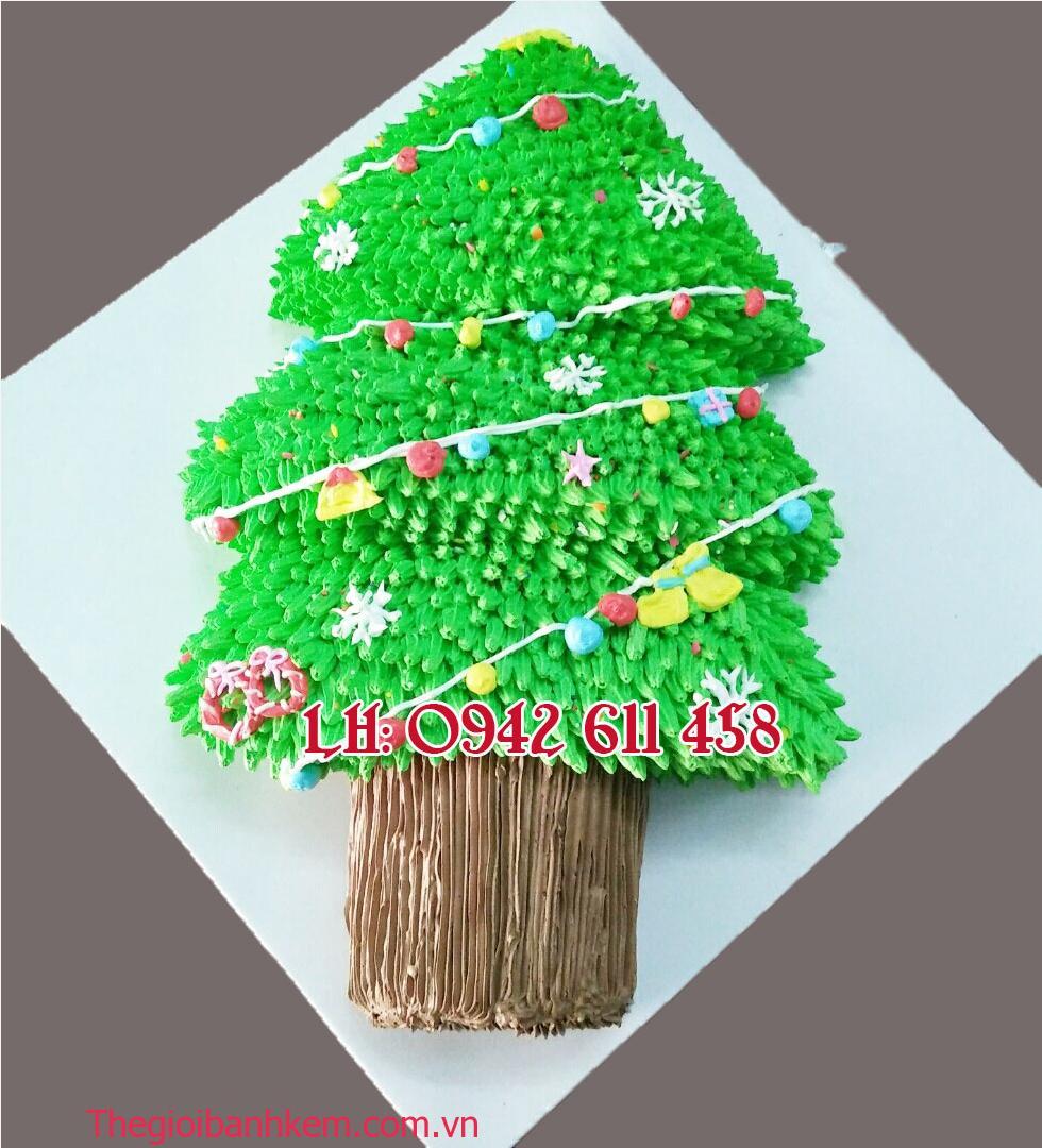 Bánh cây thông 2D mã B2152