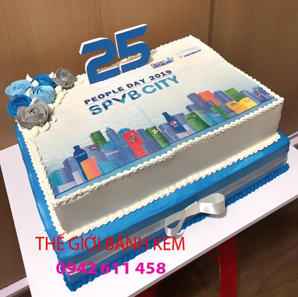 Bánh kem sinh nhật công ty mã B6201