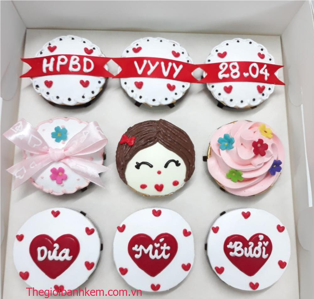 Bánh cupcake mã CC57