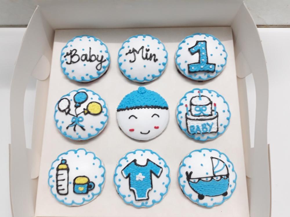 Bánh cupcake mã CC58