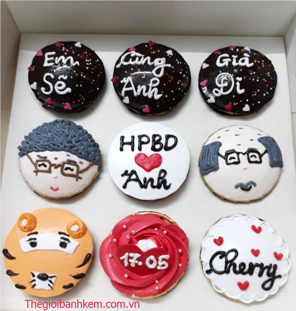Bánh cupcake mã CC62