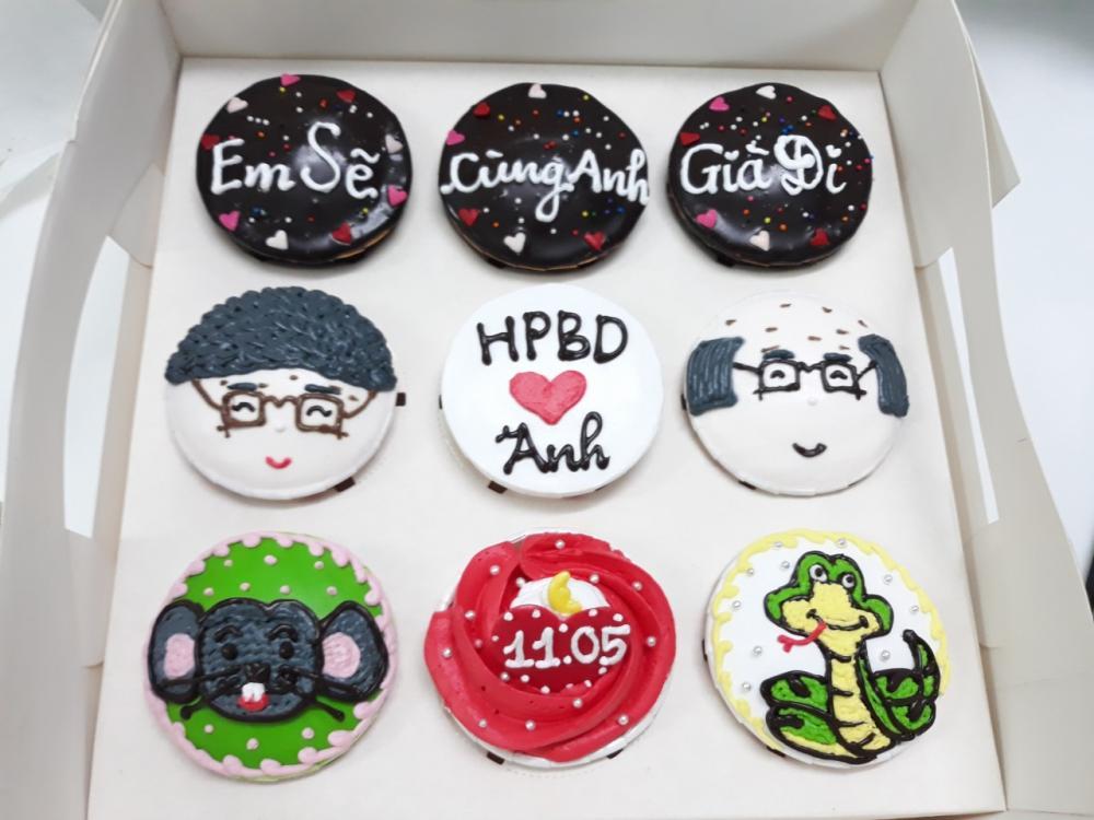 Bánh cupcake mã CC66