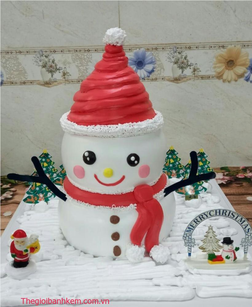 Bánh kem người tuyết Mã B11058