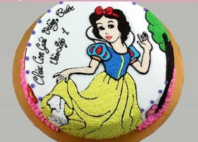Bánh công chúa Bạch Tuyết mã B385