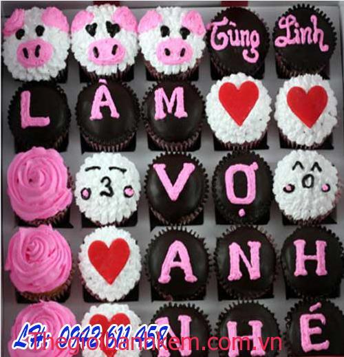 Bánh cupcake Mã CC10