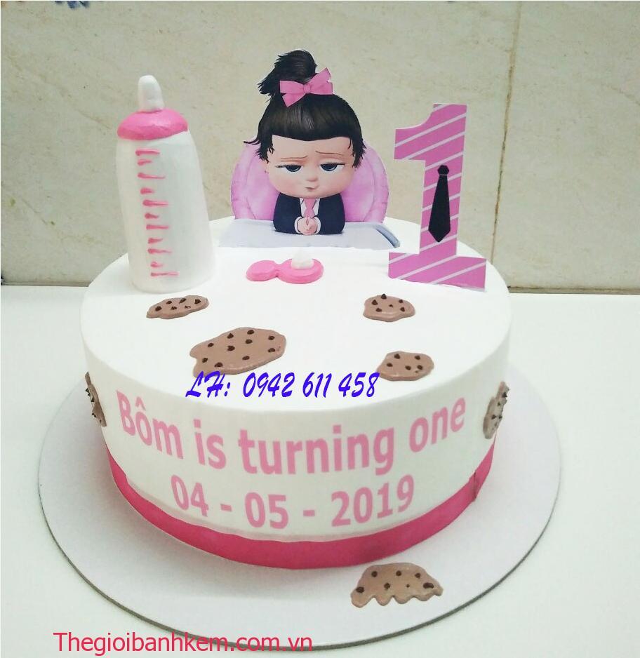 Bánh kem baby boss girl Mã B5420