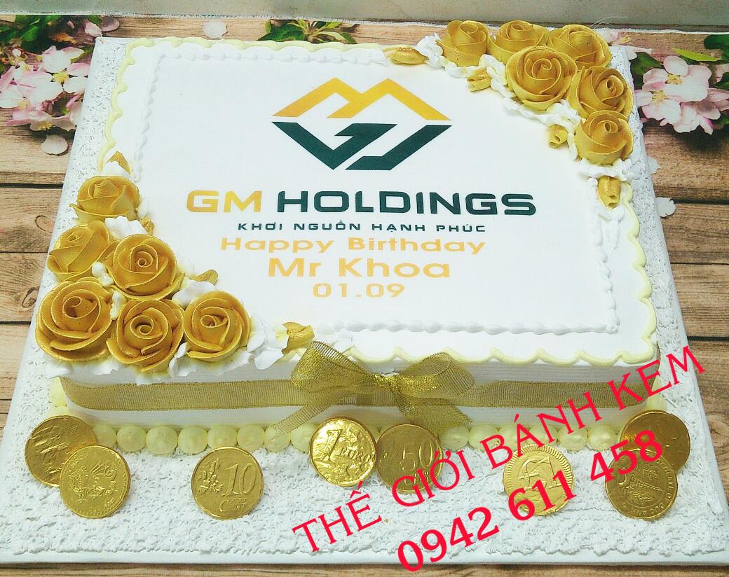 Bánh sinh nhật công ty mã B1191