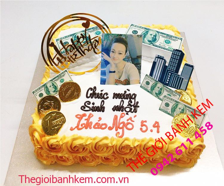 Bánh in hình triệu phú dollar mã B11059