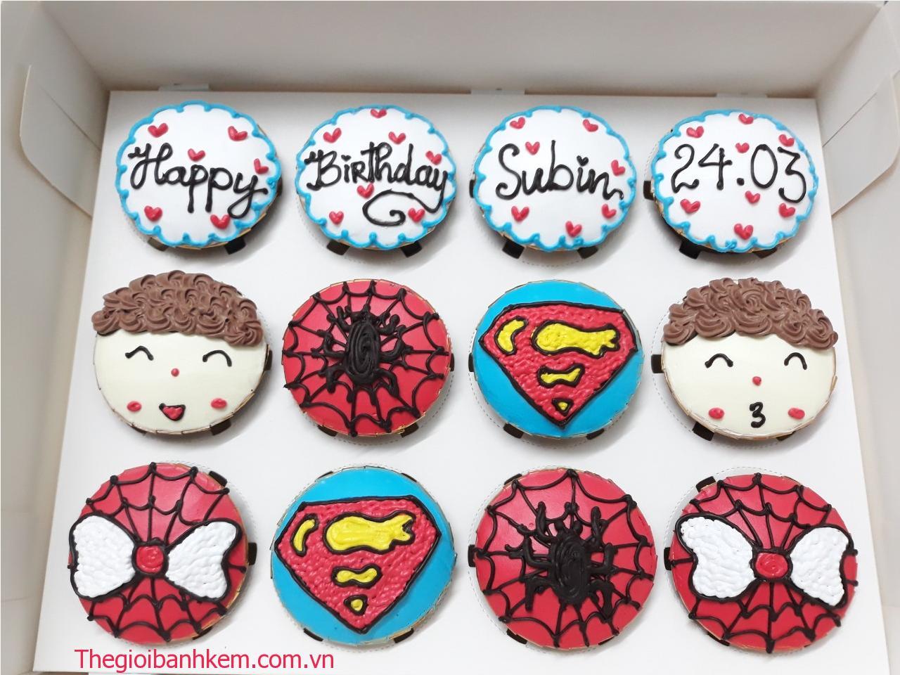Bánh cupcake mã CC70