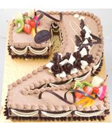 Bánh kem socola hoa quả Mã B353