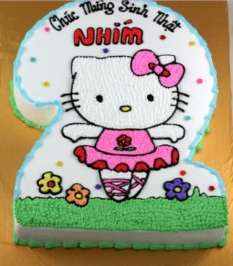 Bánh Hello Kitty mã B246