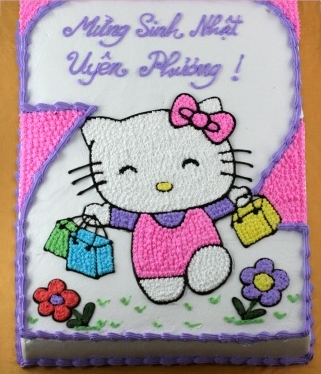 Bánh Hello Kitty mã B247