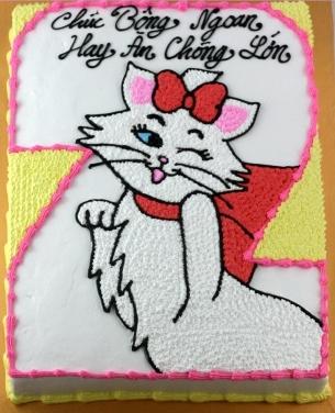 Bánh hình con mèo mã B248