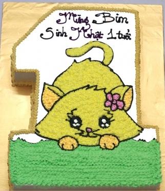 Bánh hình con mèo mã B230