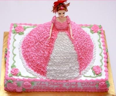Bánh công chúa 2 tầng mã B054