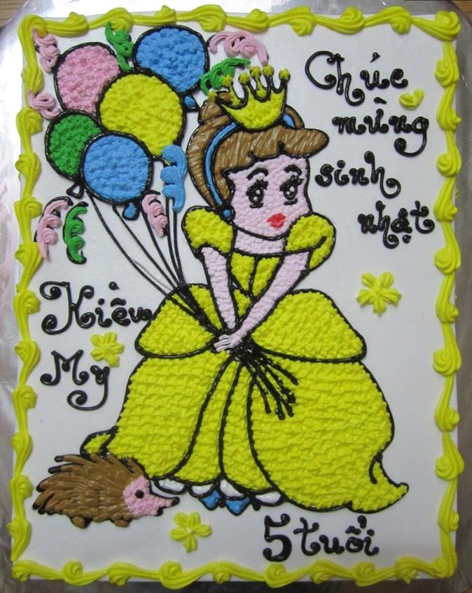 Bánh công chúa mã B424