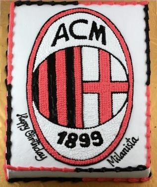 Bánh logo AC Milan mã B4708
