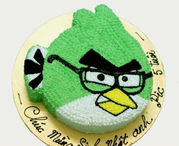 Bánh Angry Bird xanh mã B1784