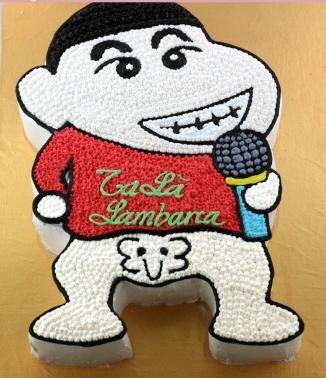 Bánh cậu bé Shin hát karaoke mã B121