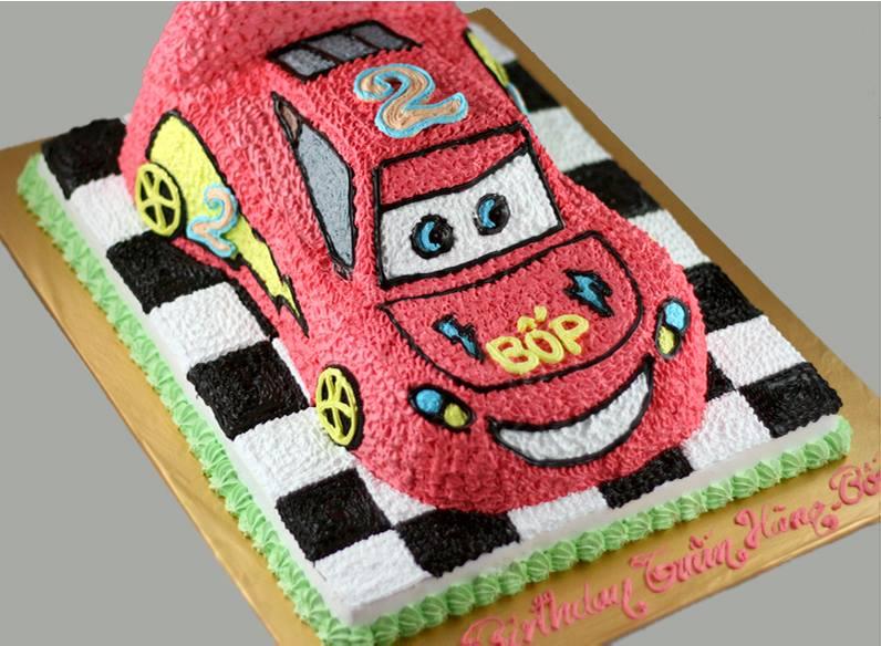 Bánh ô tô Mcqueen đường đua mã B1898