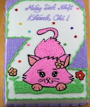 Bánh hình con mèo mã B1915