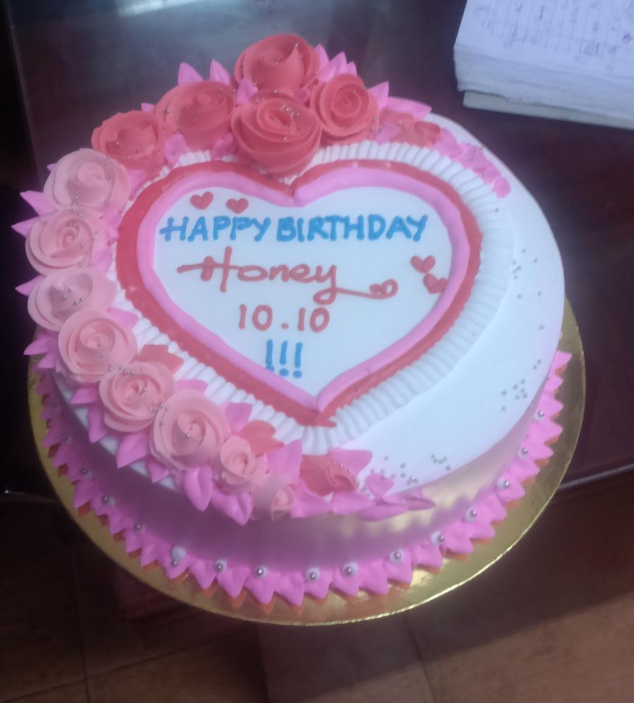 Bánh sinh nhật mã B4412