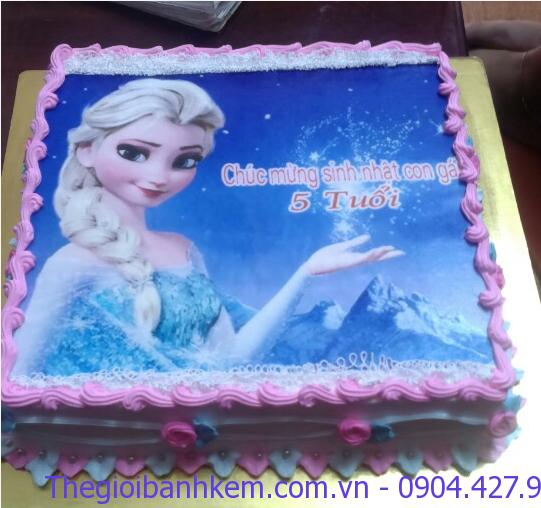Bánh sinh nhật Elsa Mã B1893